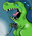 Gaming Rexes are sad!