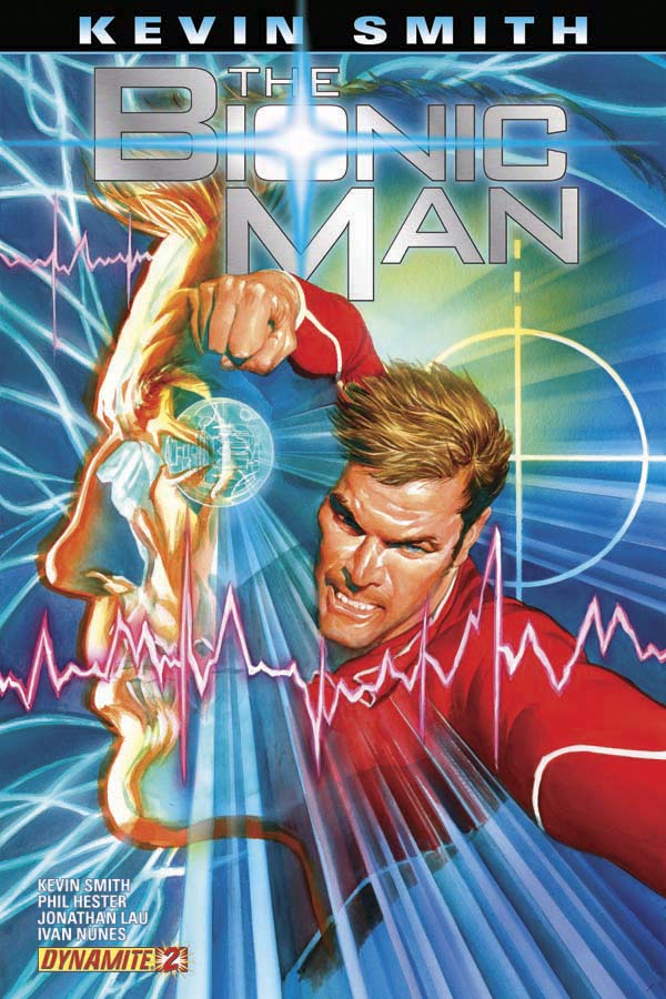 Bionic Man #2 (ships September 2011)
