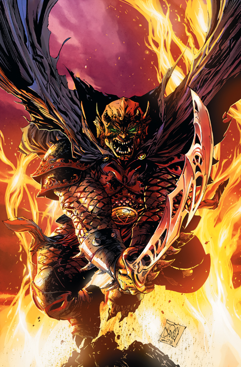 Demon Knights #1 (ships September 2011)