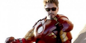 Iron Man 2 Robert Downey Jr banner