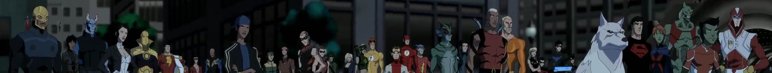 Young Justice Invasion Overall Episode 46 Season 2 Episode 20 Endgame Heroes United 1