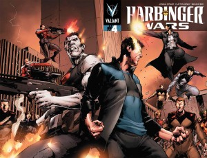 Harbinger Wars #4 cover 2