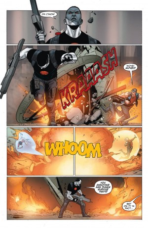 Harbinger Wars #4 interior 1