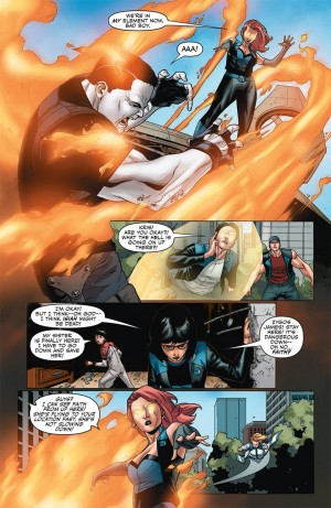 Harbinger Wars #4 interior 2