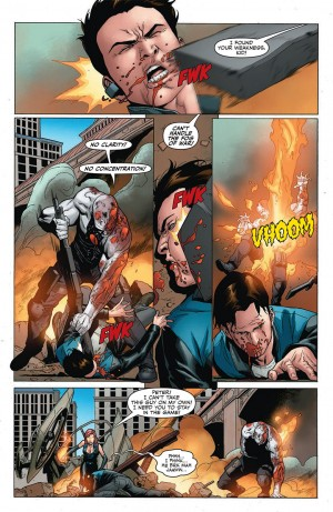 Harbinger Wars #4 interior 5