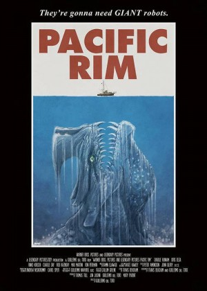 Jaws-inspired Pacific Rim poster