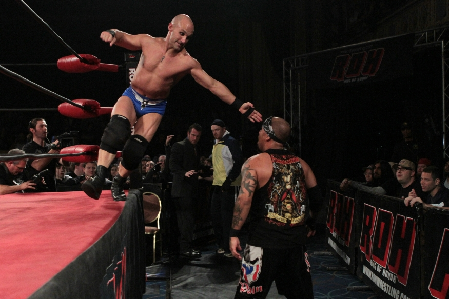 Christopher Daniels in action